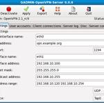 GAdmin-OpenVPN-Server